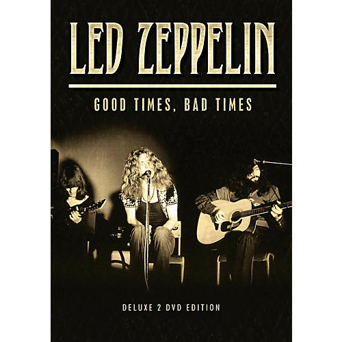 Hal Leonard Led Zeppelin - Good Times, Bad Times 2 DVD Set