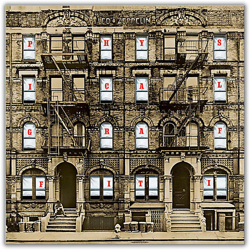 WEA Led Zeppelin - Physical Graffiti Vinyl LP