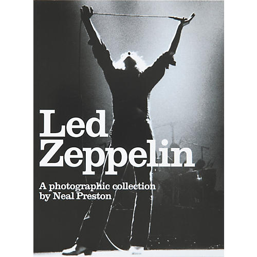 Music Sales Led Zeppelin: A Photographic Collection by Neal Preston (Book)-thumbnail