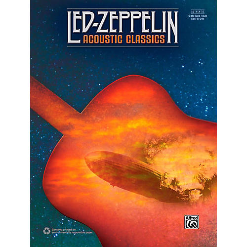 Alfred Led Zeppelin: Acoustic Classics (Revised) - Authentic Guitar TAB-thumbnail