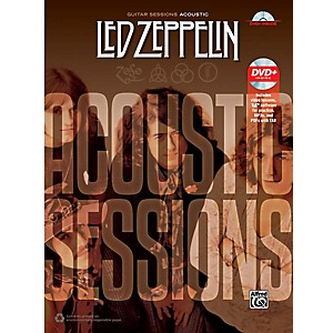 Alfred Led Zeppelin: Acoustic Sessions - Guitar TAB Songbook and DVD by Alfred