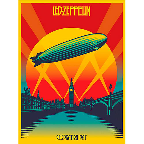 WEA Led Zeppelin Celebration Day (Deluxe 2-CD Set with Blu-Ray & DVD)-thumbnail