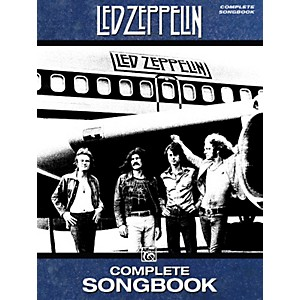 Alfred Led Zeppelin Complete Songbook by Alfred