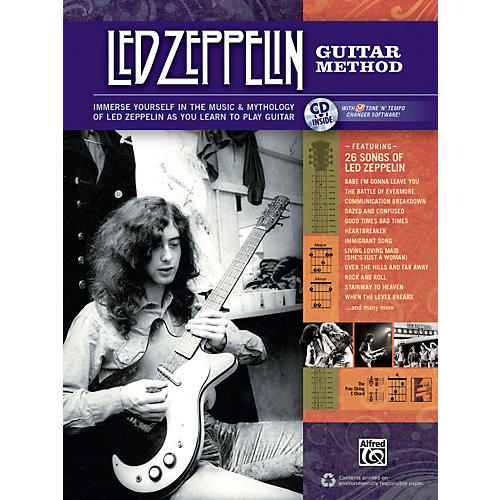 Alfred Led Zeppelin Guitar Method Book/CD