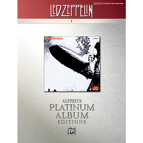 Alfred Led Zeppelin I Guitar Tab Platinum Edition Book-thumbnail