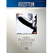 Alfred Led Zeppelin I Platinum Bass Guitar Book