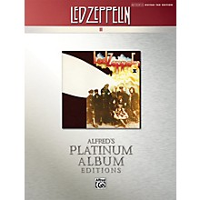 Alfred Led Zeppelin II Guitar Tab Platinum Edition Book