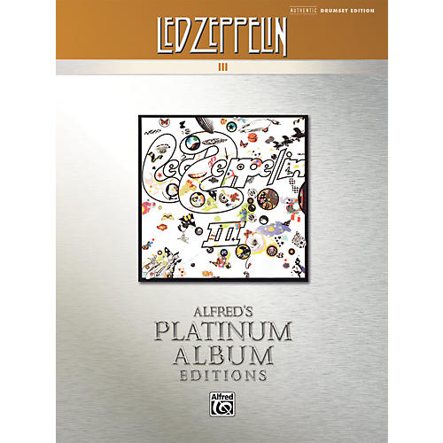 Alfred Led Zeppelin III Platinum Drums (Book)-thumbnail