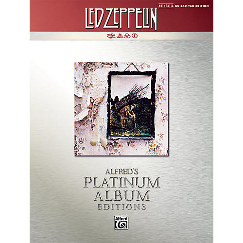 Alfred Led Zeppelin IV Guitar Tab Platinum Edition Book-thumbnail