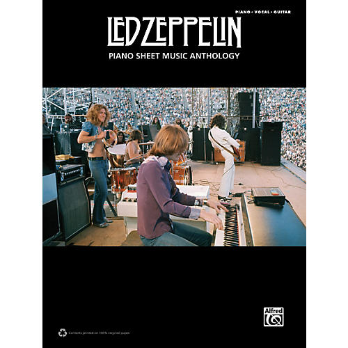 Alfred Led Zeppelin Piano Sheet Music Anthology PVG Book-thumbnail