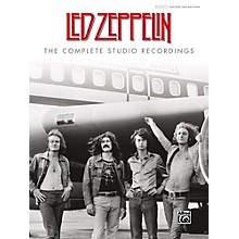 Alfred Led Zeppelin: The Complete Studio Recordings Hardcover Authentic Guitar TAB Edition
