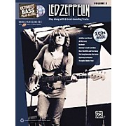 Alfred Led Zeppelin Ultimate Play Along Bass Volume 2 with 2 CD's