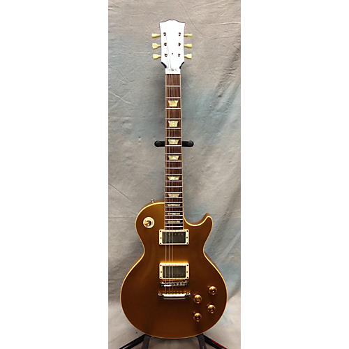 Gibson Lee Roy Parnell Signature Les Paul Gold Bullion Solid Body Electric Guitar Gold Bullion-thumbnail