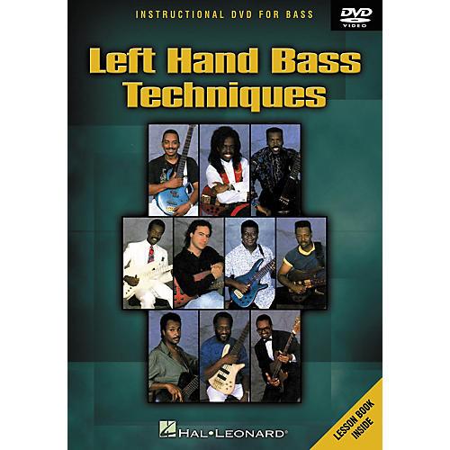 Hal Leonard Left Hand Bass Techniques (DVD)-thumbnail
