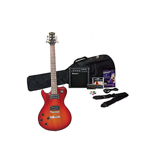 Silvertone Left-Handed Electric Guitar Pack-thumbnail