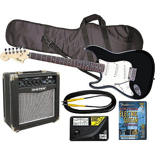 Fender Left Handed Electric Guitar Pack