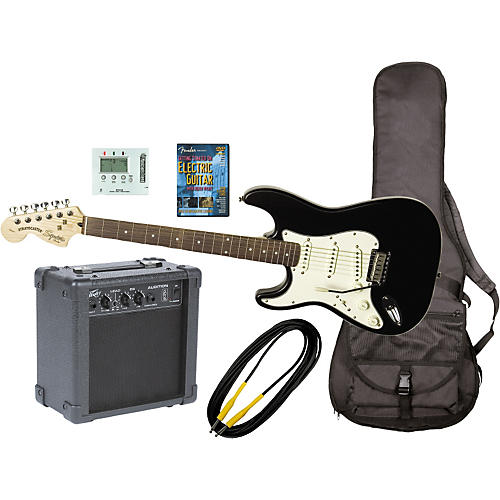 Fender Left Handed Electric Guitar and Amp Pack