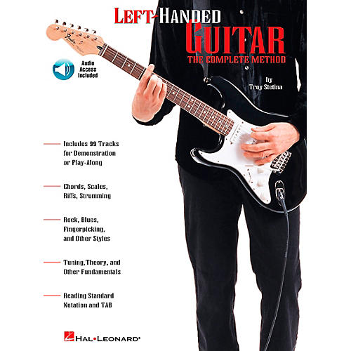 Hal Leonard Left-Handed Guitar Book/Online Audio