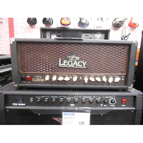 used carvin legacy 100 tube guitar amp head guitar center. Black Bedroom Furniture Sets. Home Design Ideas