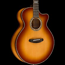 Breedlove Legacy Auditorium Black Shadow CE Sitka Spruce - Myrtlewood Acoustic-Electric Guitar Shadow Burst