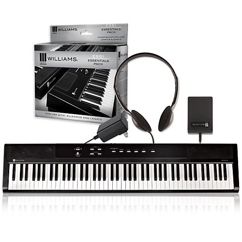 Williams Legato Digital Piano with ESS1 Essentials Pack-thumbnail