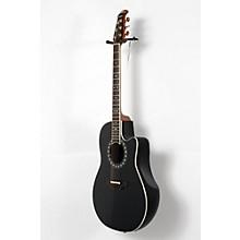 Ovation Legend 2077 AX Deep Contour Acoustic-Electric Guitar Level 2 Black 190839033475