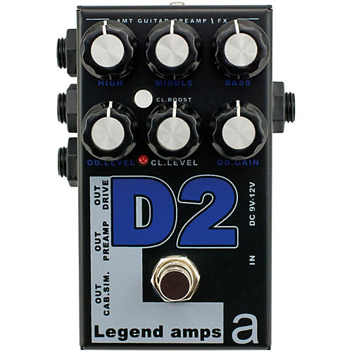 AMT Electronics Legend Amp Series II D2