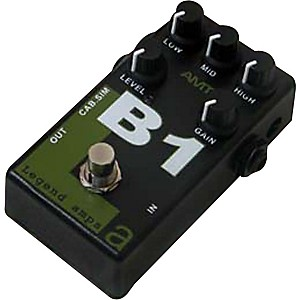 AMT Electronics Legend Amps Series B1 Distortion Guitar Effects Pedal by AMT Electronics