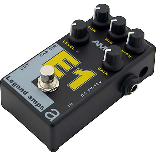 AMT Electronics Legend Amps Series E1 Distortion Guitar Effects Pedal-thumbnail