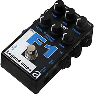 AMT Electronics Legend Amps Series F1 Distortion Guitar Effects Pedal by AMT Electronics