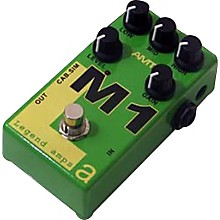 AMT Electronics Legend Amps Series M1 Distortion Guitar Effects Pedal Level 1