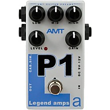 AMT Electronics Legend Amps Series P1 Distortion Guitar Effects Pedal