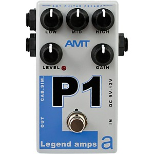 AMT Electronics Legend Amps Series P1 Distortion Guitar Effects Pedal by AMT Electronics