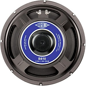 Eminence Legend B810 10 inch Bass Speaker