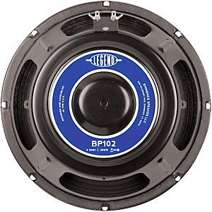 Eminence Legend BP102 10 Inch 200 Watt Bass Speaker