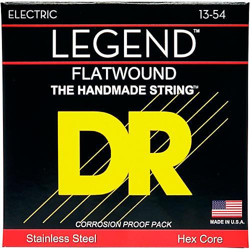 DR Strings Legend Medium Flatwound Electric Guitar Strings-thumbnail