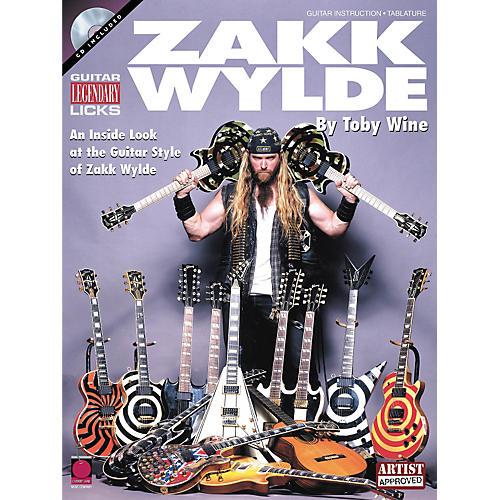 Hal Leonard Legendary Licks Zakk Wylde Book with CD