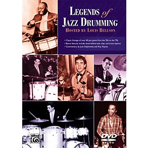 Alfred Legends of Jazz Drumming DVD by Alfred