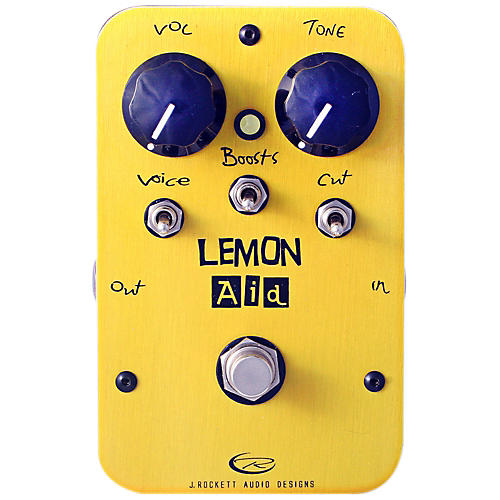 Rockett Pedals Lemon Aid Multi Boost Guitar Effects Pedal-thumbnail