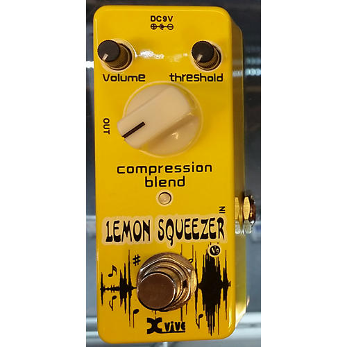 XVive Lemon Squeezer Effect Pedal