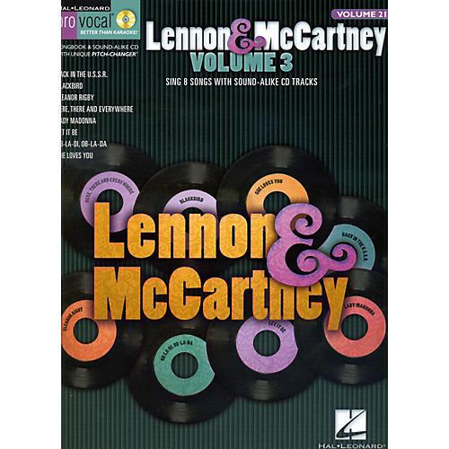 Hal Leonard Lennon & McCartney - Volume 3 (Book/CD)-thumbnail