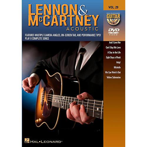 Hal Leonard Lennon & McCartney Acoustic - Guitar Play-Along DVD Volume 29-thumbnail