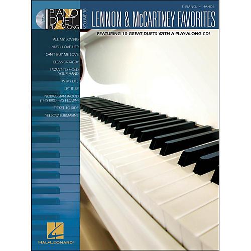 Hal Leonard Lennon & McCartney Favorites - Piano Duet Play-Along Volume 38 (Book/CD)
