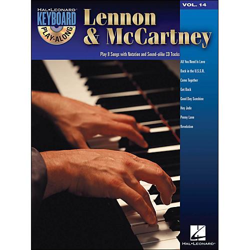 Hal Leonard Lennon & McCartney Hits - Keyboard Play-Along Volume 14 (Book/CD)