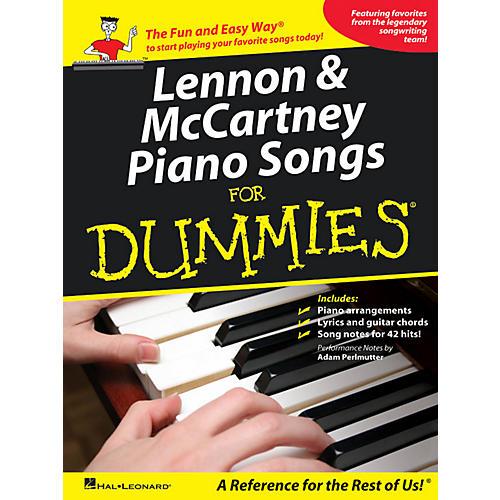 Hal Leonard Lennon & McCartney Piano Songs For Dummies-thumbnail