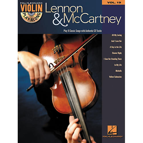 Hal Leonard Lennon & McCartney Violin Play-Along Volume 19 (Book/CD)