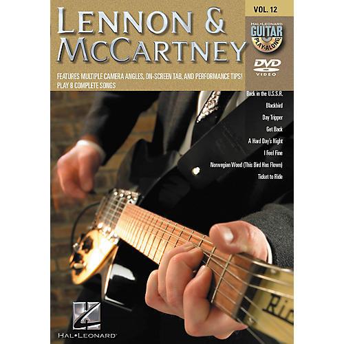 Hal Leonard Lennon & Mccartney - Guitar Play-Along DVD Volume 12-thumbnail