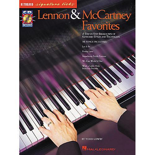 Hal Leonard Lennon and McCartney Favorites (Book/CD)-thumbnail