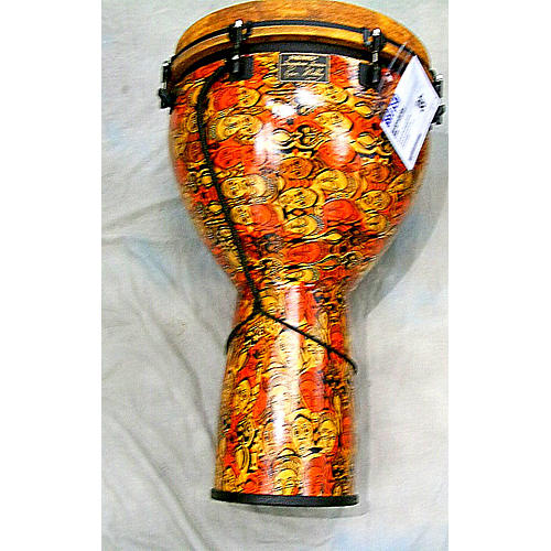 Remo Leon Mobly Signature African Mask Djembe-thumbnail