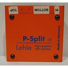 Lehle Lepsplit II Passive High Impedance Splitter Footswitch